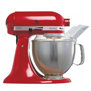 KitchenAid Artisan KSM150BER Stand Mixer Red